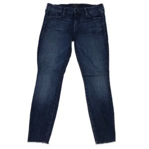 MOTHER Looker Ankle Fray Skinny Jeans Sz 29